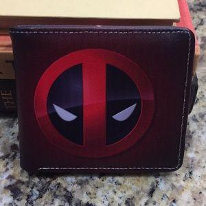 Deadpool X-men Leather Wallet/New